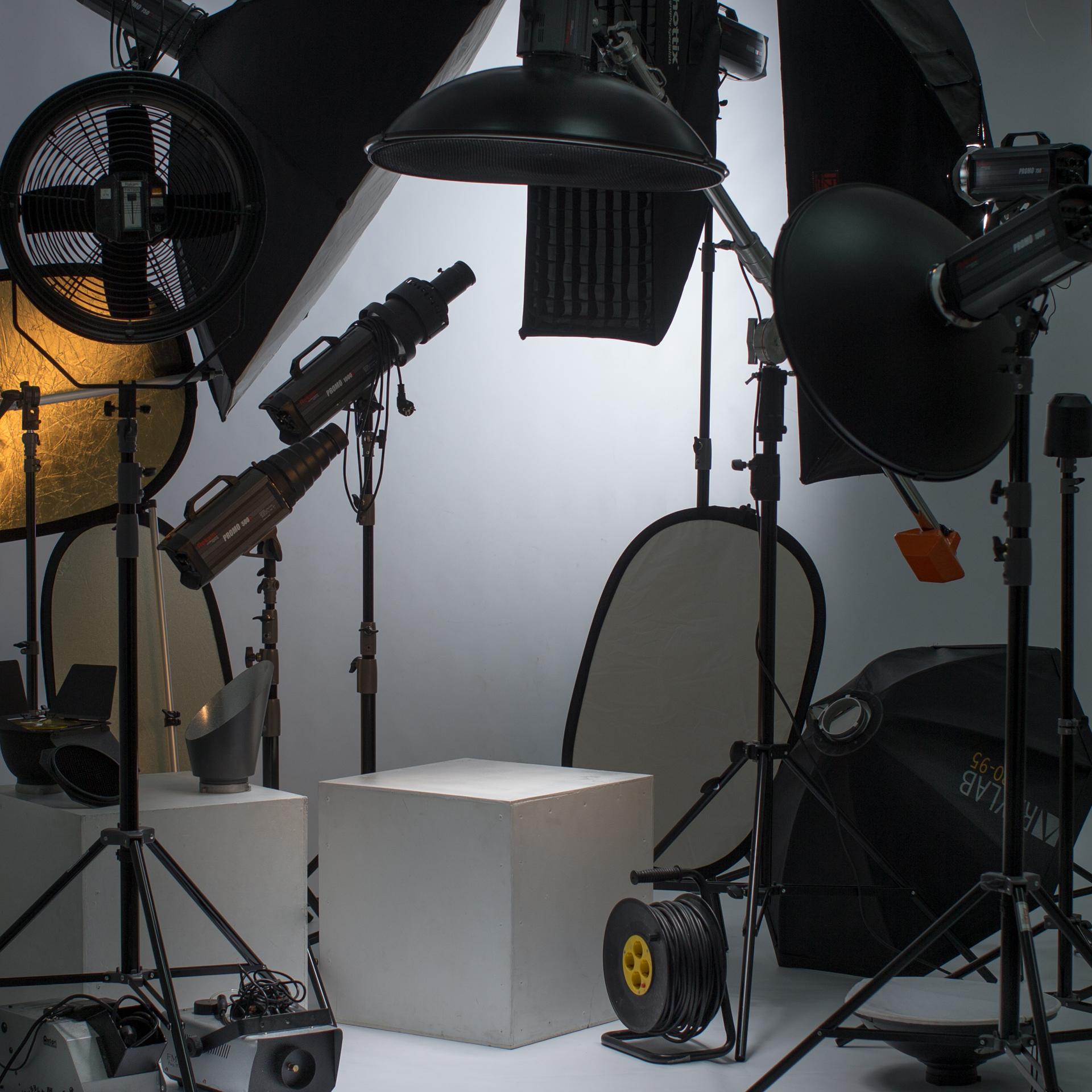 Оборудование фотостудии Диомид.